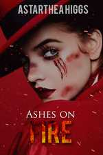 Ashes on fire