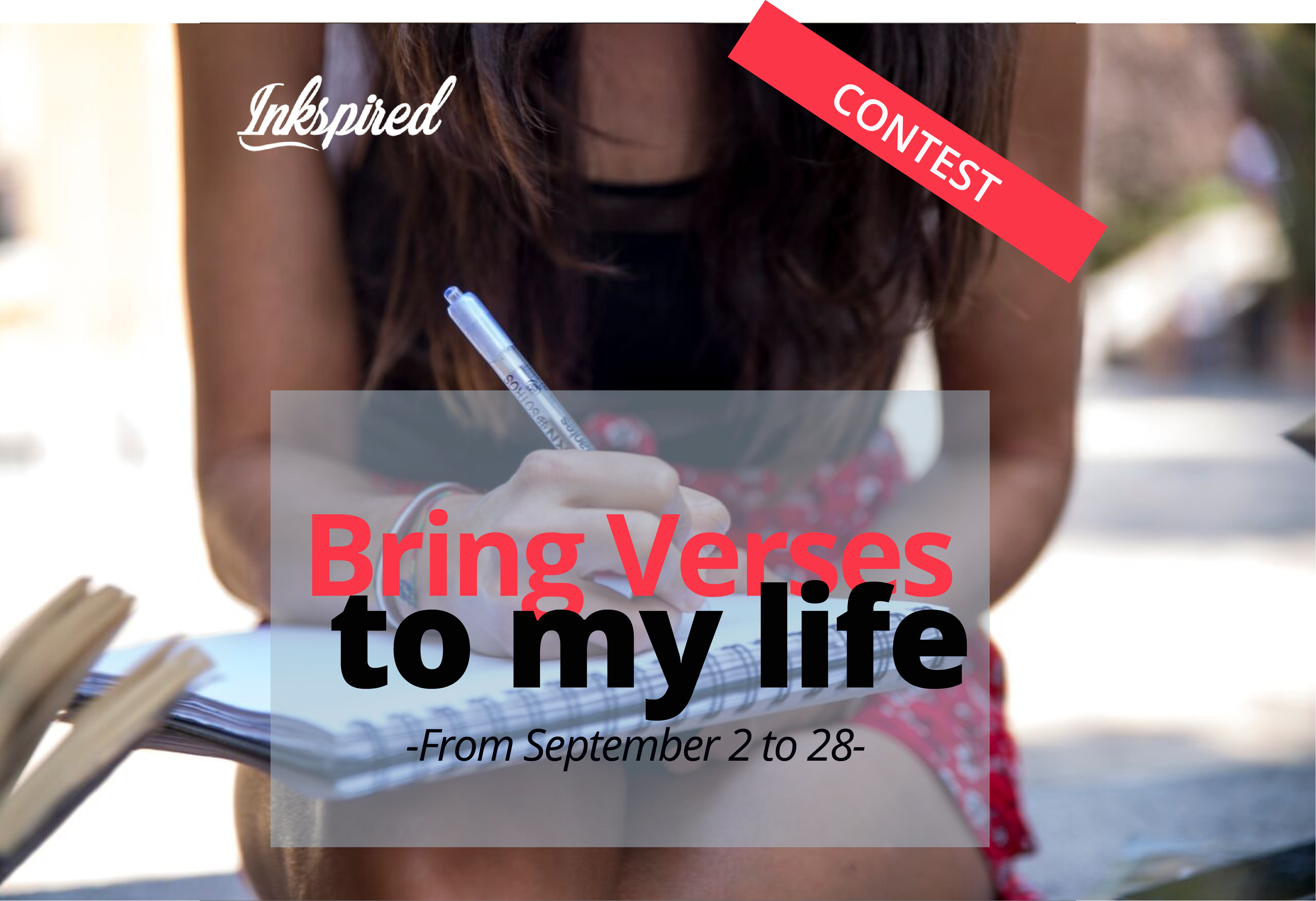 Bring verses to my life