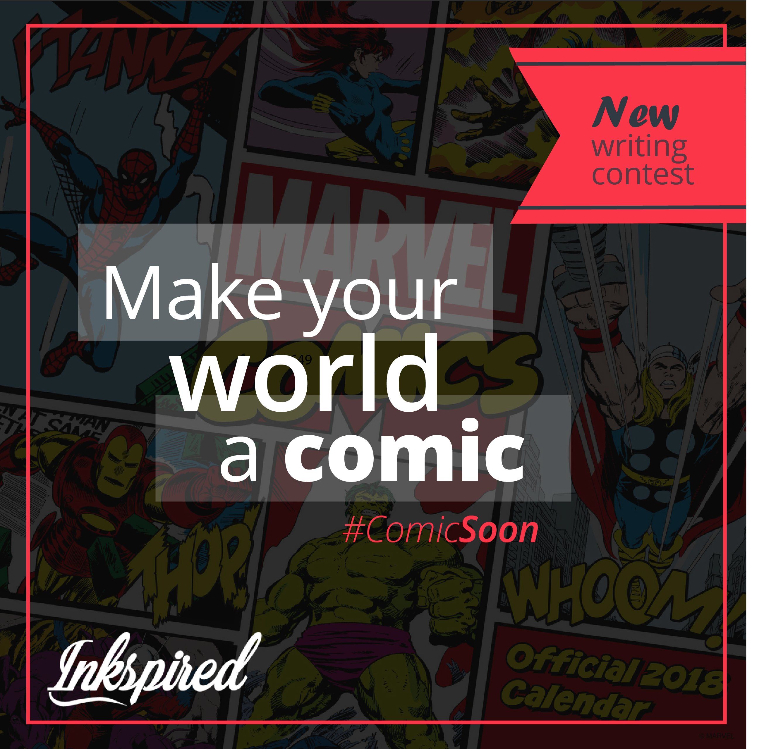 Make your world a comic